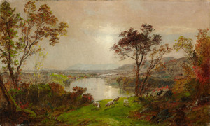 Art Prints of Wyoming Valley by Jasper Francis Cropsey