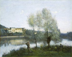 Art Prints of Village of d'Avray by Camille Corot