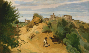 Art Prints of Genzano by Camille Corot