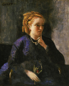 Art Prints of Portrait of a Woman by Camille Corot