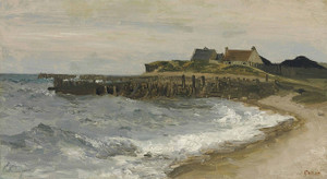 Art Prints of Seas in Saint Address by Camille Corot