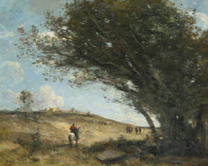 Art Prints of The Gauls by Camille Corot