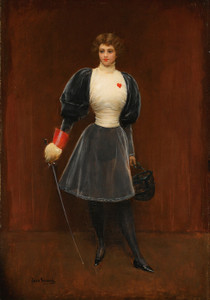 Art Prints of Fencer by Jean Beraud