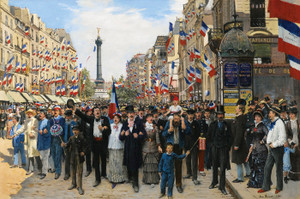 Art Prints of La Marseillaise, the National Anthem of France by Jean Beraud