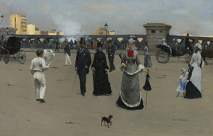 Art Prints of Place de l'Europe by Jean Beraud