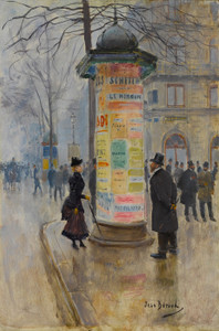 Art Prints of Parisian Street Scene by Jean Beraud