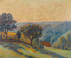 Art Prints of La Vallee de la Creuse by Jean-Baptiste-Armand Guillaumin