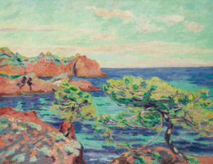 Art Prints of Le Trayas by Jean-Baptiste-Armand Guillaumin
