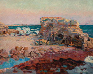 Art Prints of The Rocks in Saint Palais by Jean-Baptiste-Armand Guillaumin