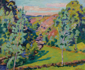 Art Prints of Valley Sedelle II by Jean-Baptiste-Armand Guillaumin