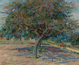 Art Prints of Trees in Ile-de-France by Jean-Baptiste-Armand Guillaumin