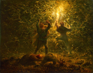 Art Prints of Bird's Nesters by Jean-Francois Millet