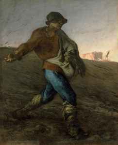 Art Prints of The Sower I by Jean-Francois Millet