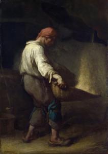 Art Prints of The Winnower by Jean-Francois Millet