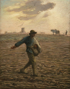 Art Prints of The Sower II by Jean-Francois Millet