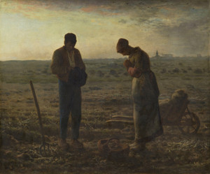 Art Prints of The Angelus by Jean-Francois Millet