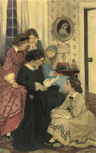 Art Prints of They All Drew to the Fire by Jessie Willcox Smith