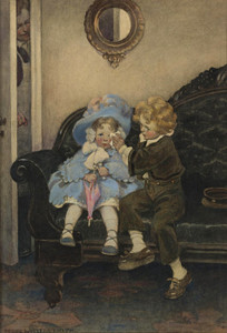 Art Prints of The Runaway Couple by Jessie Willcox Smith