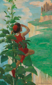 Art Prints of Jack and the Beanstalk by Jessie Willcox Smith