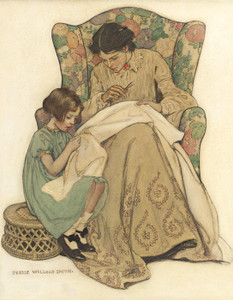 Art Prints of The Sewing Lesson by Jessie Willcox Smith