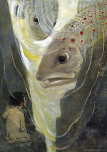 Art Prints of I Only Want to Look at You by Jessie Willcox Smith