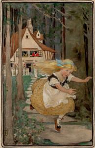 Art Prints of Goldilocks and the Three Bears by Jessie Willcox Smith