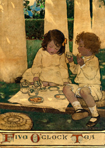 Art Prints of Five O'Clock Tea by Jessie Willcox Smith