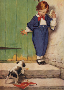 Art Prints of Let Dogs Delight by Jessie Willcox Smith