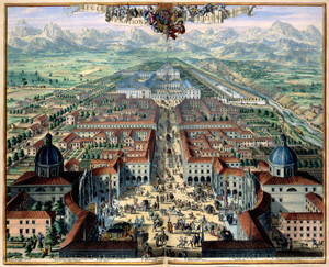 Art Prints of City View of Turin, 1682 (187) by Joan Blaue