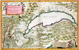 Art Prints of Map of the Duchy of Chablis, 1682 (385) by Joan Blaue