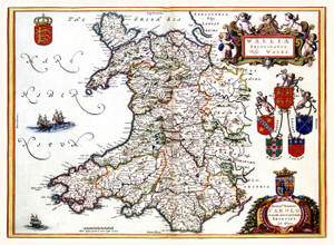 Art Prints of Wales, 1645 (331) by Joan Bleau