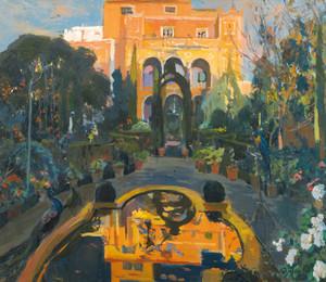 Art Prints of The Artist's Garden by Joaquin Mir