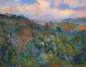 Art Prints of The Ruins of the Castle of San Tueri in Felanitx by Joaquim Mir