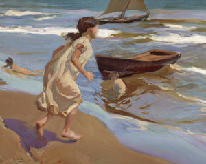 Art Prints of Bathing Hour by Joaquin Sorolla y Bastida
