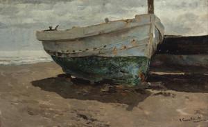 Art Prints of Boats on the Beach III by Joaquin Sorolla y Bastida