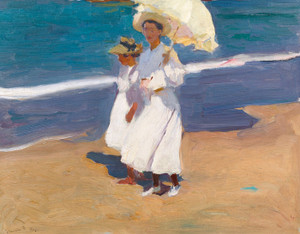 Art Prints of By the Seaside by Joaquin Sorolla y Bastida
