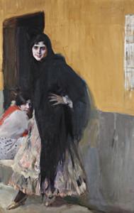 Art Prints of Ladies of Seville by Joaquin Sorolla y Bastida