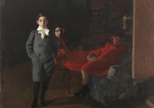 Art Prints of My Children by Joaquin Sorolla y Bastida