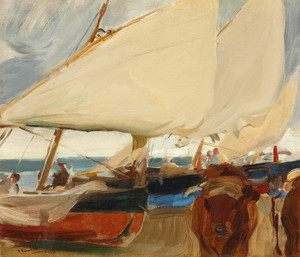 Art Prints of Playa de Valencia by Joaquin Sorolla y Bastida
