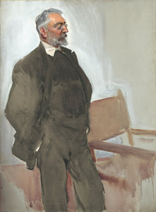 Art Prints of Portrait of Unamuno by Joaquin Sorolla y Bastida