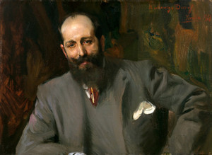 Art Prints of Portrait of Joaquin Decref y Ruiz by Joaquin Sorolla y Bastida