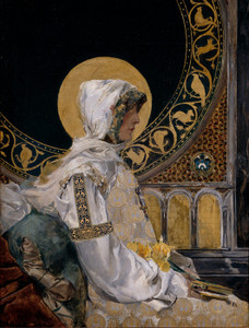 Art Prints of Saint in Prayer by Joaquin Sorolla y Bastida