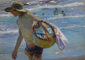 Art Prints of The Fisherman by Joaquin Sorolla y Bastida