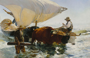 The Return from Fishing by Joaquin Sorolla y Bastida | Fine Art Print
