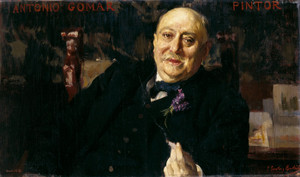 Art Prints of The Painter Antonio Gomar y Gomar by Joaquin Sorolla y Bastida
