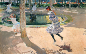 Art Prints of The Skipping Rope by Joaquin Sorolla y Bastida