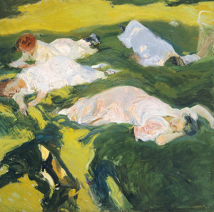 Art Prints of The Siesta by Joaquin Sorolla y Bastida