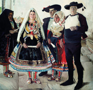 Art Prints of Typical Lagarterans or Lagarteran Bride by Joaquin Sorolla y Bastida
