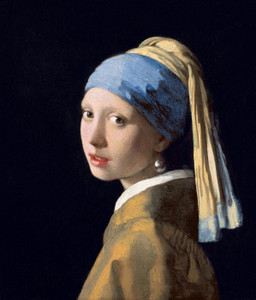Art Prints of Girl with a Pearl Earring by Johannes Vermeer