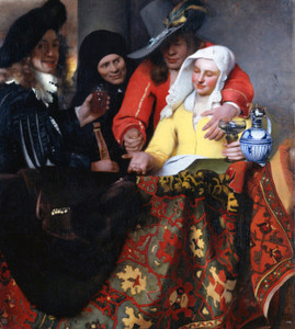 Art Prints of The Procuress by Johannes Vermeer